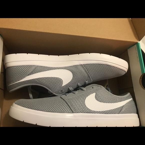 8fbc318c9e1 Grey Nike SB Portmore Ultralight